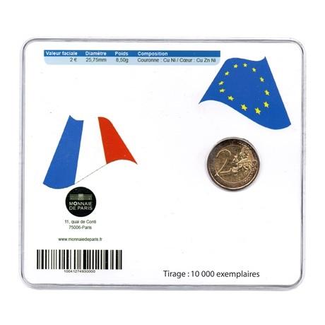 (EUR07.ComBU&BE.2012.200.BU.10041274930000) 2 euro France 2012 BU - 10 ans de l'euro Verso