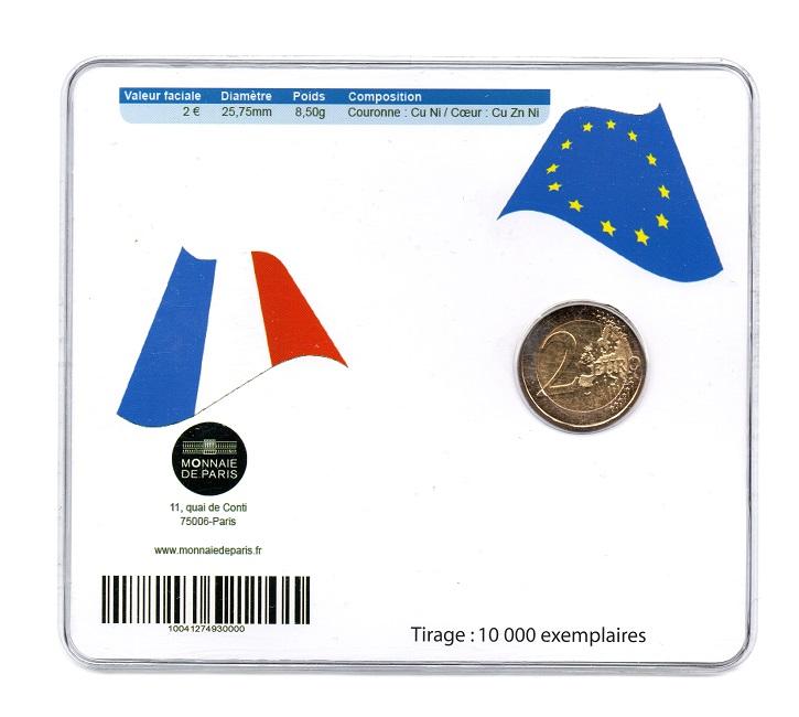 (EUR07.ComBU&BE.2012.200.BU.10041274930000) 2 euro France 2012 BU - 10 years of euro cash Back (zoom)