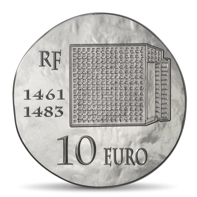 (EUR07.ComBU&BE.2013.1000.BE.10041281480000) 10 euro France 2013 Proof silver - King Louis XI Reverse (zoom)