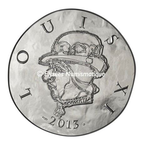 (EUR07.ComBU&BE.2013.1000.BE.10041281480000) 10 euro France 2013 argent BE - Louis XI Avers