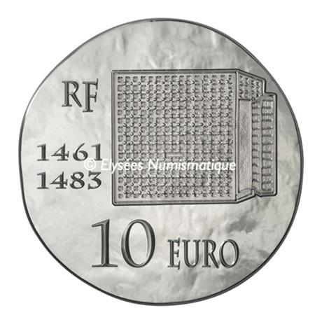 (EUR07.ComBU&BE.2013.1000.BE.10041281480000) 10 euro France 2013 argent BE - Louis XI Revers