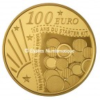 100 euro France 2011 or BE - Semeuse Revers