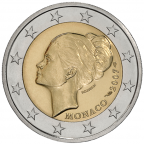 2 euro commémorative Monaco 2007 - Grace Kelly