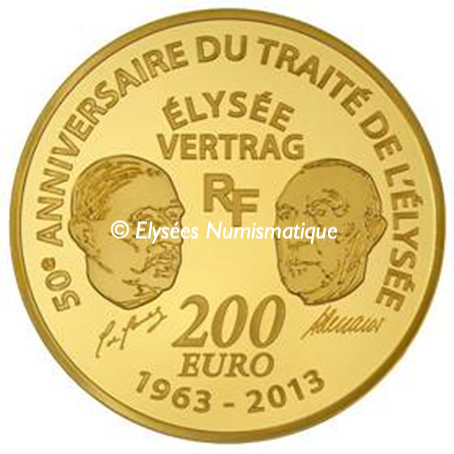 200 euro France 2013 or BE - Europa Revers
