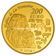 200 euro France 2014 or BE - Année du Cheval Revers