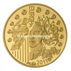 5 euro France 2011 or BE - Europa Avers