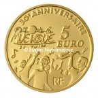 5 euro France 2011 or BE - Europa Revers