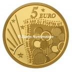 5 euro France 2011 or BE - Semeuse Revers