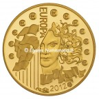 5 euro France 2012 or BE - Europa Avers
