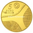 5 euro France 2012 or BE - Patrimoine egyptien Revers