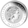 50 cents Australie 2013 0,5 once argent BE - Koala Avers