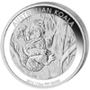 50 cents Australie 2013 0,5 once argent BE - Koala Revers