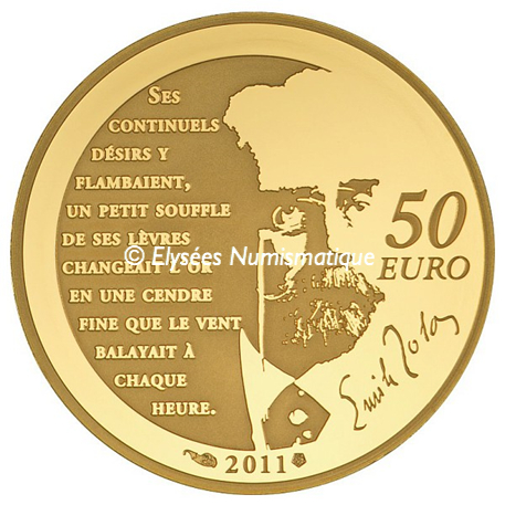 50 euro France 2011 or BE - Nana Revers