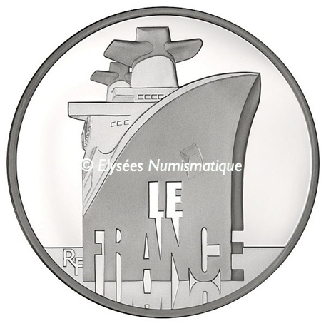 50 euro France 2012 argent BE - Le France Avers