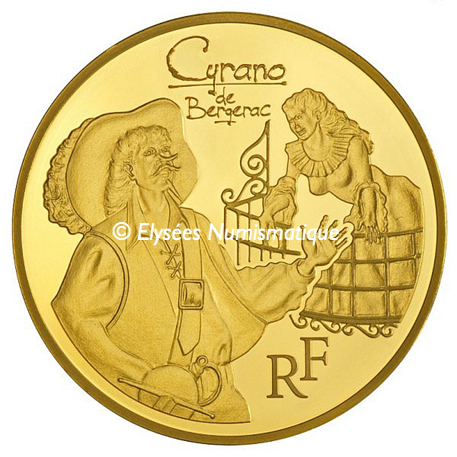 50 euro France 2012 or BE - Cyrano Avers