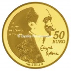 50 euro France 2012 or BE - Cyrano Revers