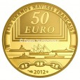 50 euro France 2012 or BE - La Jeanne d'Arc Reverse