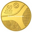 50 euro France 2012 or BE - Patrimoine egyptien Revers