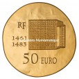 50 euro France 2013 or BE - Louis XI Revers