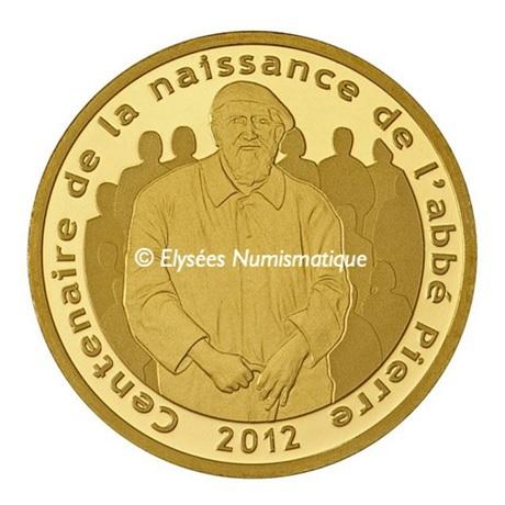 (EUR07.ComBU&BE.2012.10041275210000) 5 euro France 2012 Au BE - Abbé Pierre Avers