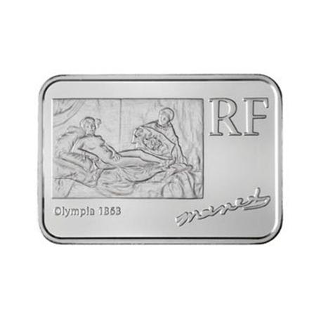 0,25 euro France 2008 argent BU - Edouard Manet Avers