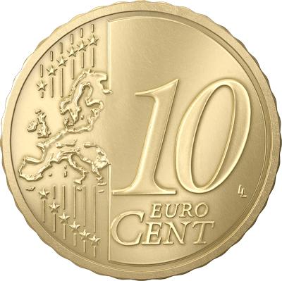 10 cent Lettonie 2014 Revers
