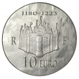 10 euro France 2012 argent BE - Philippe II Auguste Revers