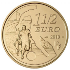 1,5 euro France 2010 - Girondins de Bordeaux Avers