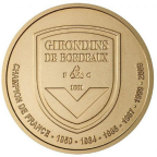 1,5 euro France 2010 - Girondins de Bordeaux Revers