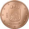 2 cent Lettonie 2014 Avers