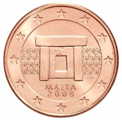 2 cent Malte 2008