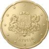 20 cent Lettonie 2014 Avers