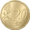 20 cent Lettonie 2014 Revers