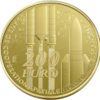 200 euro France 2014 or BE - Europa Reverse