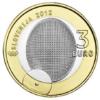 3 euro Slovénie 2012 - Première médaille olympique Avers