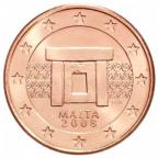 5 cent Malte 2008