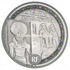 50 euro France 2012 argent BE - Patrimoine egyptien Avers