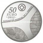 50 euro France 2012 argent BE - Patrimoine egyptien Revers