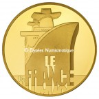 50 euro France 2012 or BE - Le France Obverse