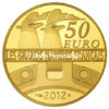 50 euro France 2012 or BE - Le France Reverse