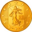 50 euro France 2014 or BE - Semeuse Avers