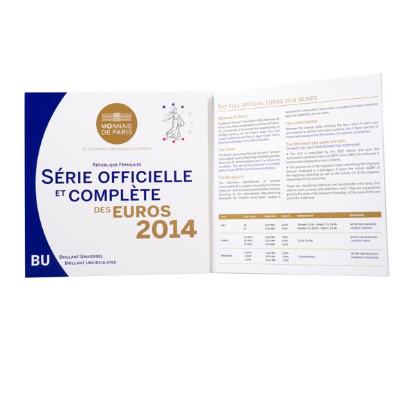 Coffret BU France 2014