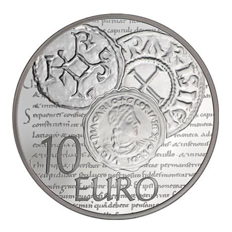 (EUR07.ComBU&BE.2014.1000.BE.10041286370000) 10 euro France 2014 argent BE - Semeuse Revers