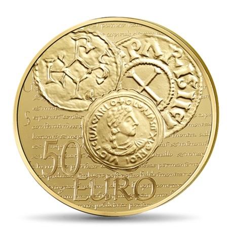 (EUR07.ComBU&BE.2014.10041286350000) 50 euro France 2014 Au BE - Semeuse Revers
