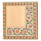 Médaille bronze doré et émaillé - Amour courtois Revers