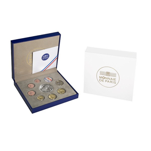 Proof coin set France 2014