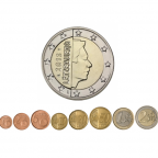 1 cent à 2 euro Luxembourg 2013
