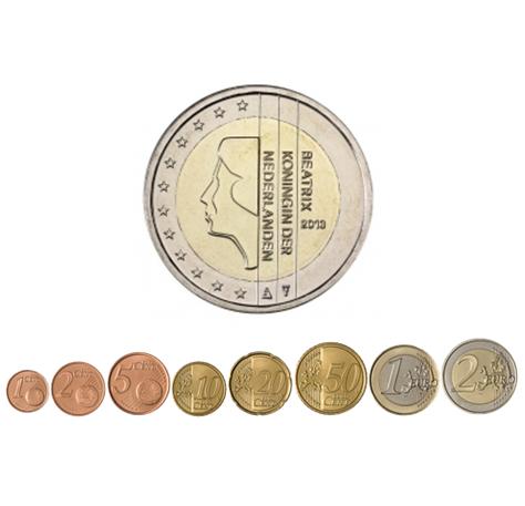 1 cent à 2 euro Pays-Bas 2013