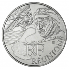 10 euro France 2012 argent - Région Réunion Avers