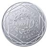 10 euro France 2012 argent - Région Réunion Revers
